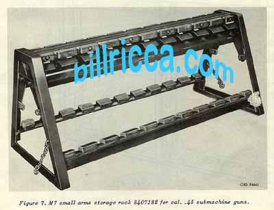 Small Arms Racks M7